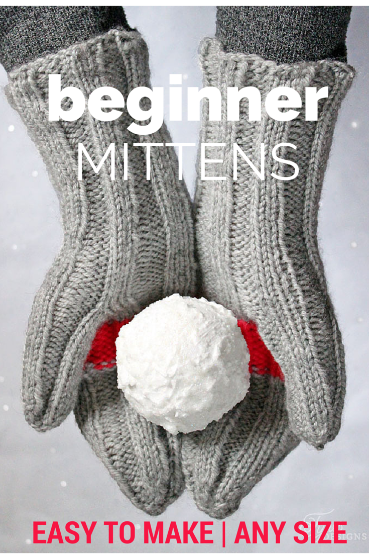 Cactus Mittens- Free Knitting Pattern for Beginners | Pinterest ...