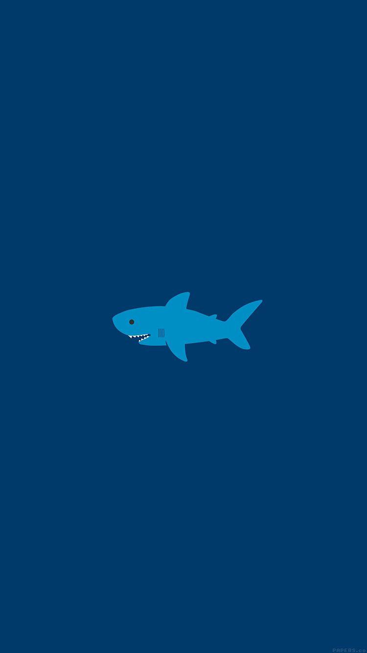 Ak01 Little Small Cute Shark Minimal サメ イラスト サメ イラスト
