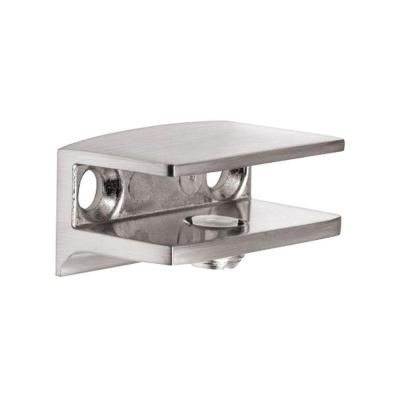 Dolle Flac Stainless Steel Metal Shelf Bracket For 1 4 In 5 16 In H Shelves 15750 The Home Depot Metal Shelf Brackets Shelf Brackets Metal Shelves