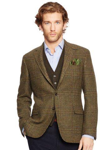 Polo Ralph Lauren Bedford Glen Plaid Sport Coat - Polo Ralph Lauren  Blazers, Suits \u0026