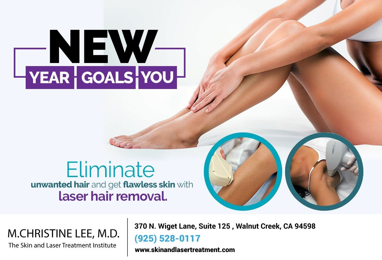 Start The New Year With A Resolution You Can Keep Ditch The Razors And Talk To Us About How Laser Hair Rem Dermatology Laser Hair Removal Cosmetic Dermatology