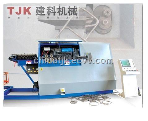 Automatic Rebar Stirrup Bender Machine 16b 16b China Bender Machine Wire Bending Machine Tjk Manufacturing Manufactory Rebar