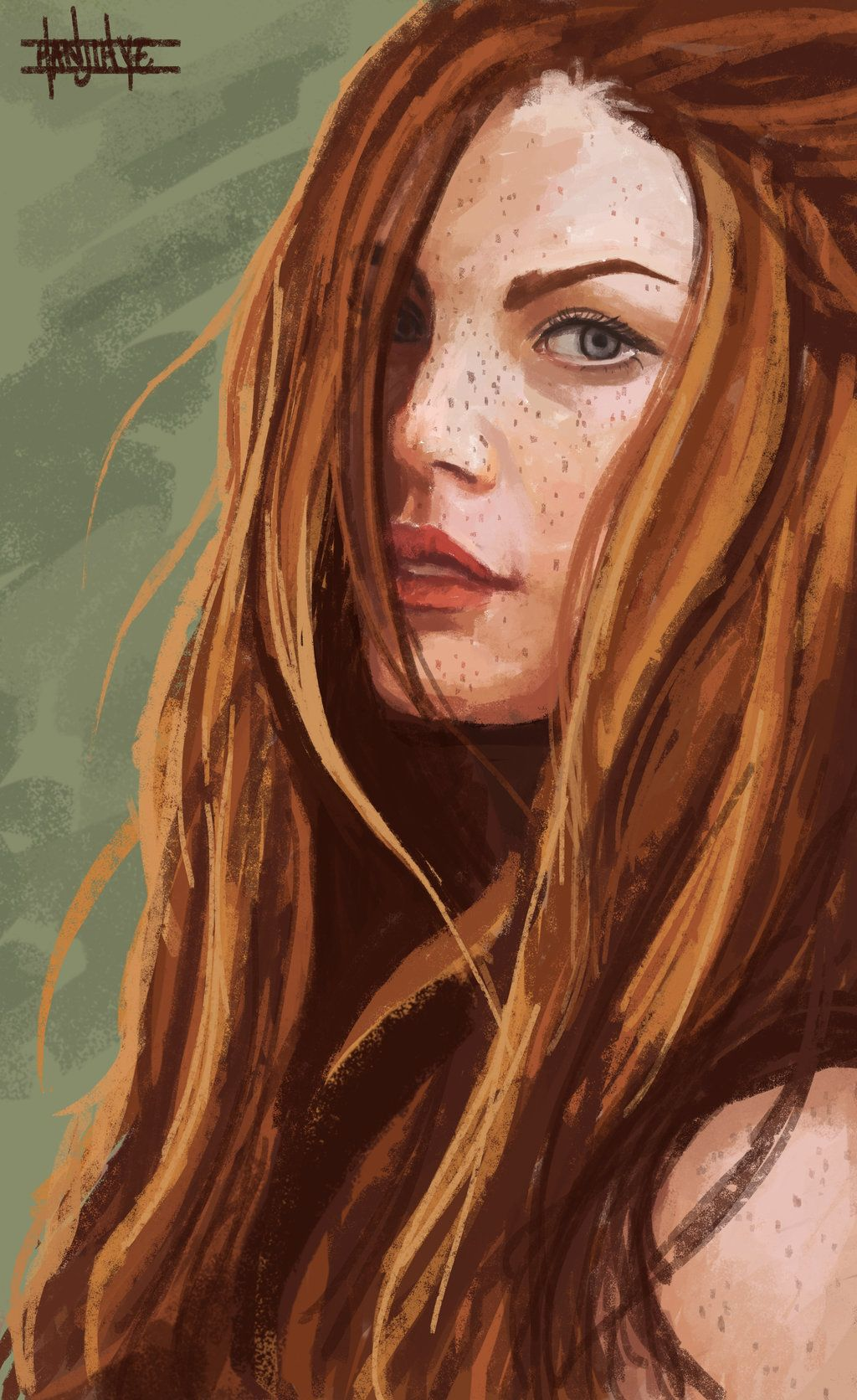 Ginny Weasley by HaNJiHye.deviantart.com