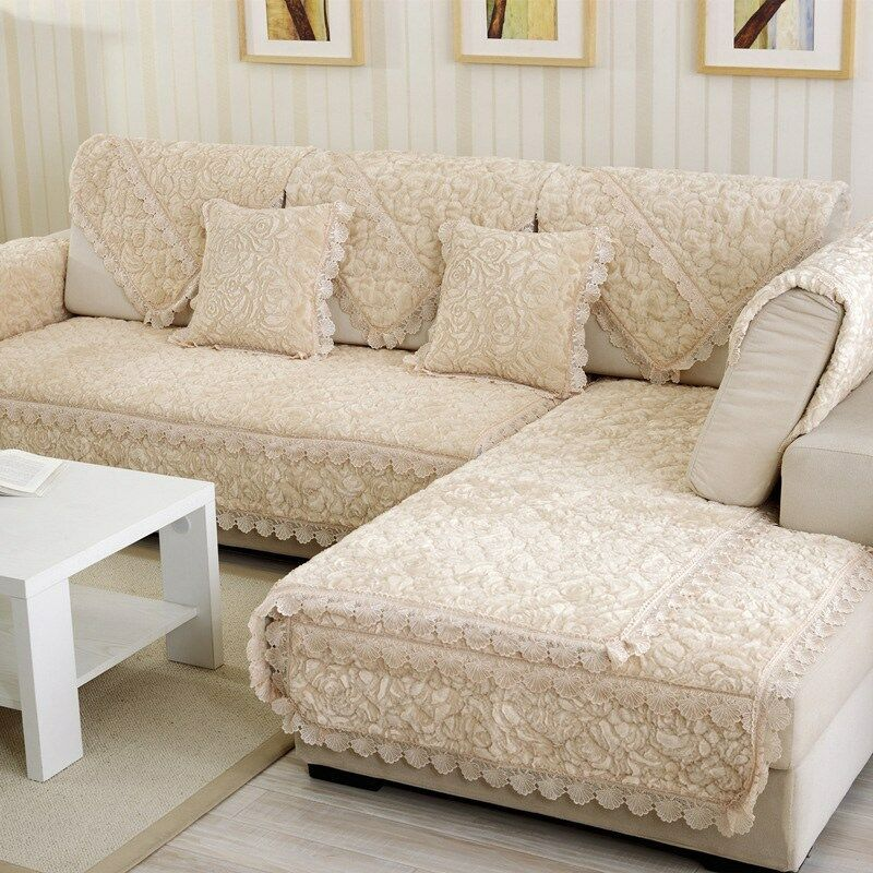 1pc Luxury Sofa Mat Furniture Couch Slipcover Exquisite Rose Armchair Cover New Grey Sofas Greysofas In 2020 Luxury Sofa Couch Furniture Slip Covers Couch