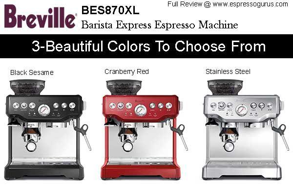 Breville BES870XL Barista Express Espresso Machine Expert Review