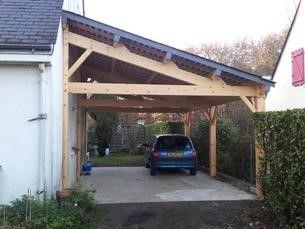 Shed Plans Abri Voiture Bois Sur Mesure 1 Pente Plus Now You Can Build Any Shed In A Weekend Even If You Ve Zer Diy Carport Pergola Carport Carport Designs
