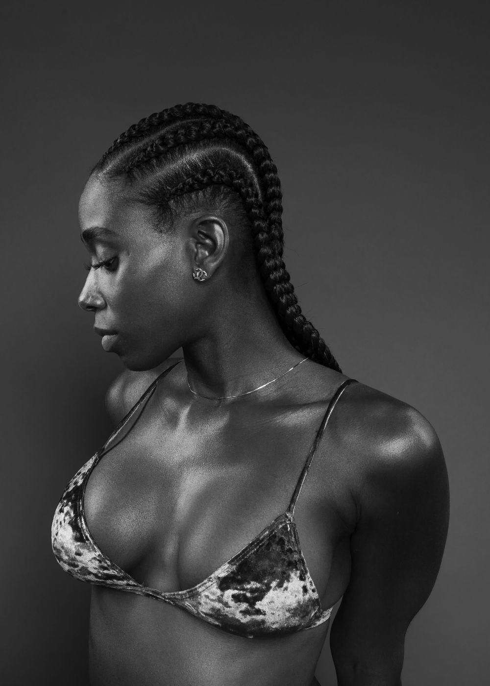black hairy african women