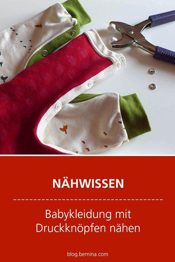 Photo of Nähwissen & Tutorial: Babykleidung mit Druckknopf nähen