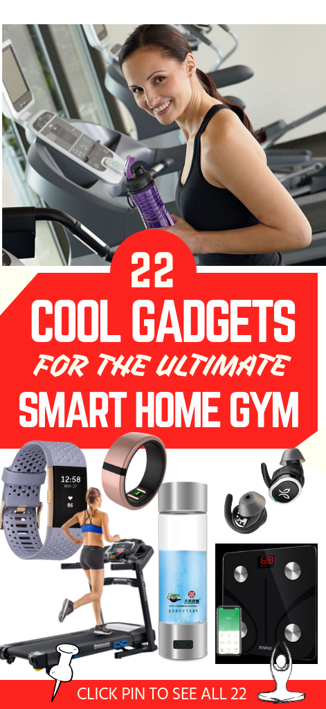 22 Smart Home Gym Products Guaranteed To Pump Clap You Up In 2019 In 2020 Fitness Gadgets Fitness Tech Workout Technology