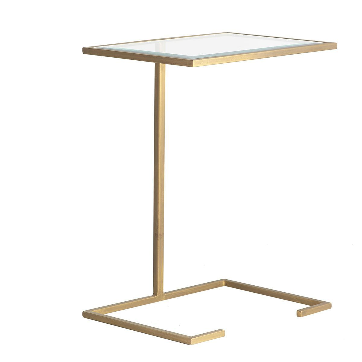 Modern Pull Up Table Gold Accent End Table Wisteria C Table Table Contemporary Coffee Table