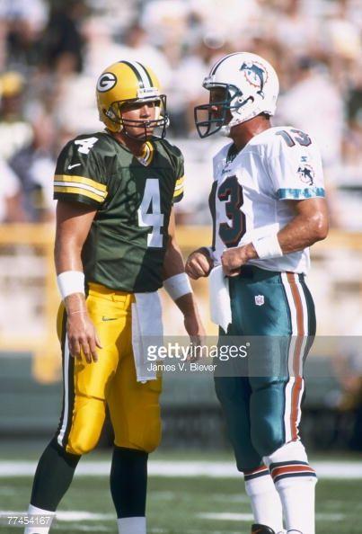 Dan Marino and Brett Favre