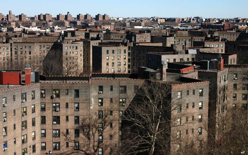 Red Hook Projects Brooklyn The Largest Public Housing Project In