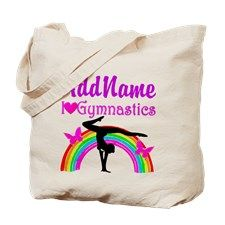 TALENTED GYMNAST Tote Bag Personalized Gymnastics bags and tote to motivate your fabulous Gymnast. http://www.cafepress.com/sportsstar/10114301 #Gymnastics #Gymnast #WomensGymnastics #Gymnastgift #Lovegymnastics #PersonalizedGymnast