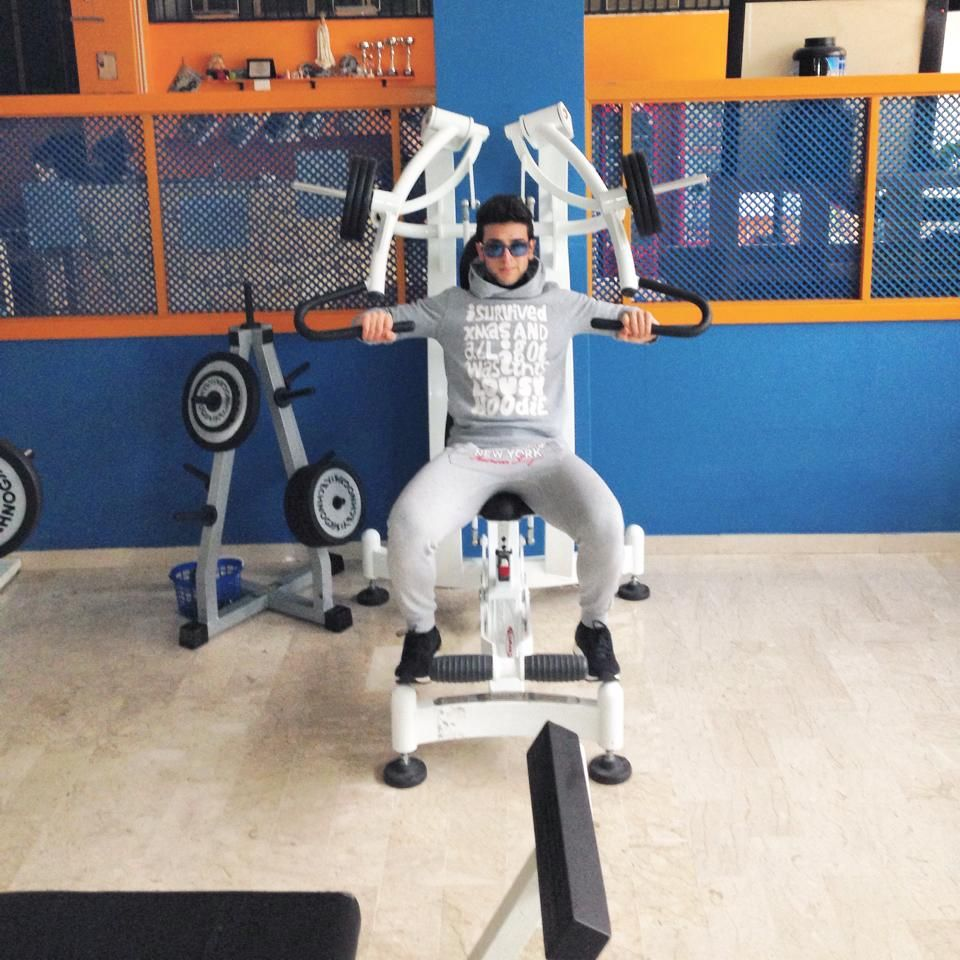 Ignazio at the gym IL