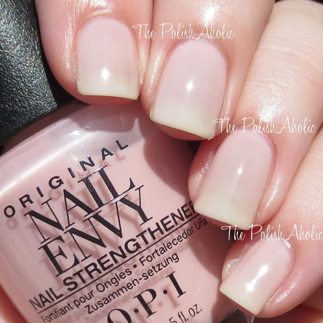 OPI Nail Envy Strength Tx Color Collection Swatches & Review ...