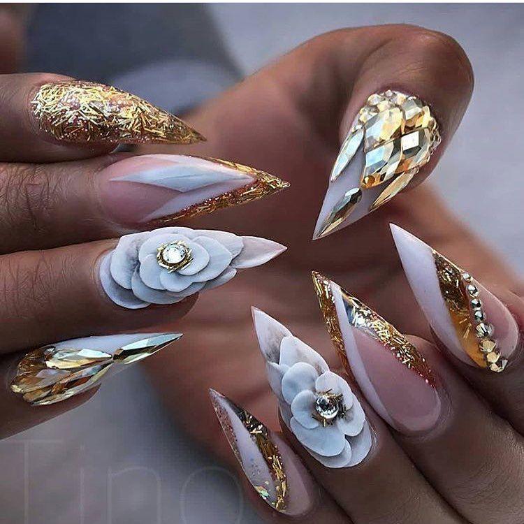 Photo of #nails #nailart (credits to the artist)