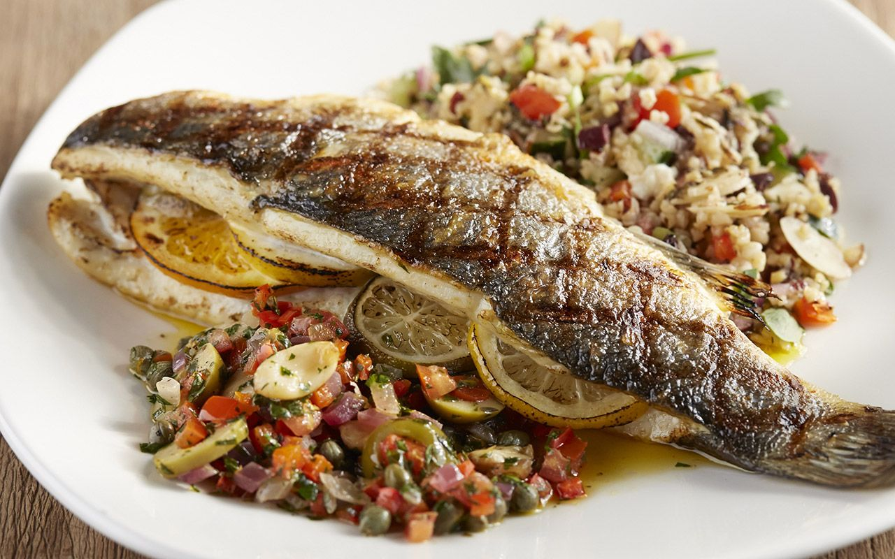 Colossal Winter Menu Also Part Of The This Meiterranean Branzino Is Sure To Please