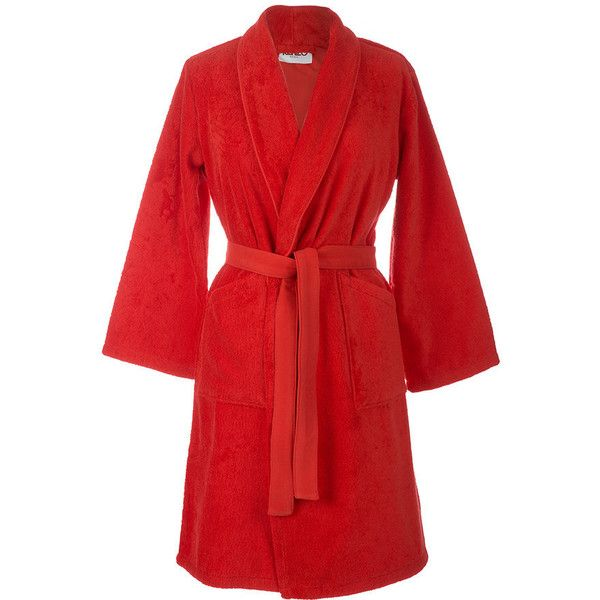 aa97de454d Kenzo Iconic Bathrobe - Red ( 220) ❤ liked on Polyvore featuring intimates