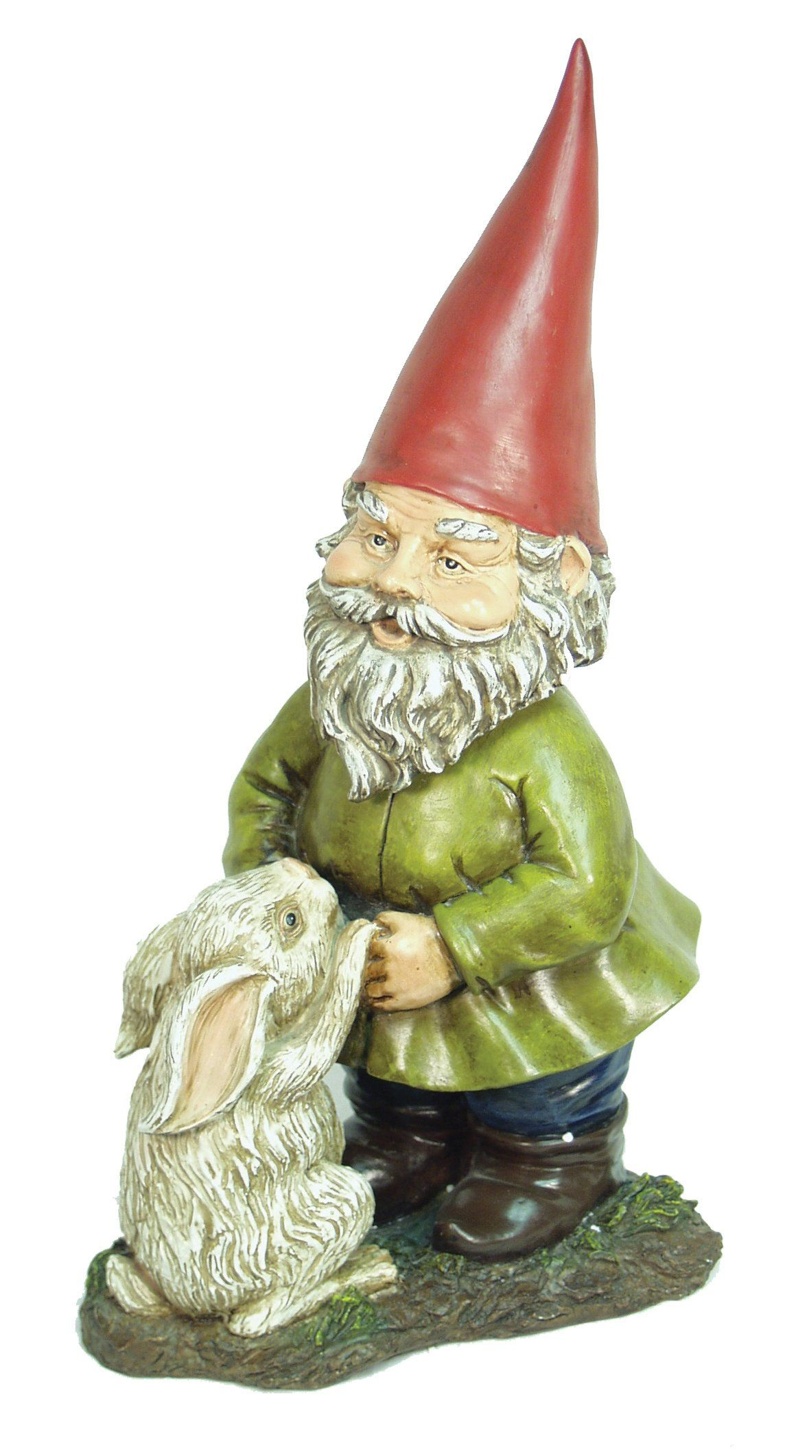 Echo Valley 4196 Rabbit Bobblehead Gnome (Discontinued by ...