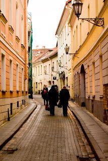 Photography by Stefany Roszczyn: Walk in Vilnius