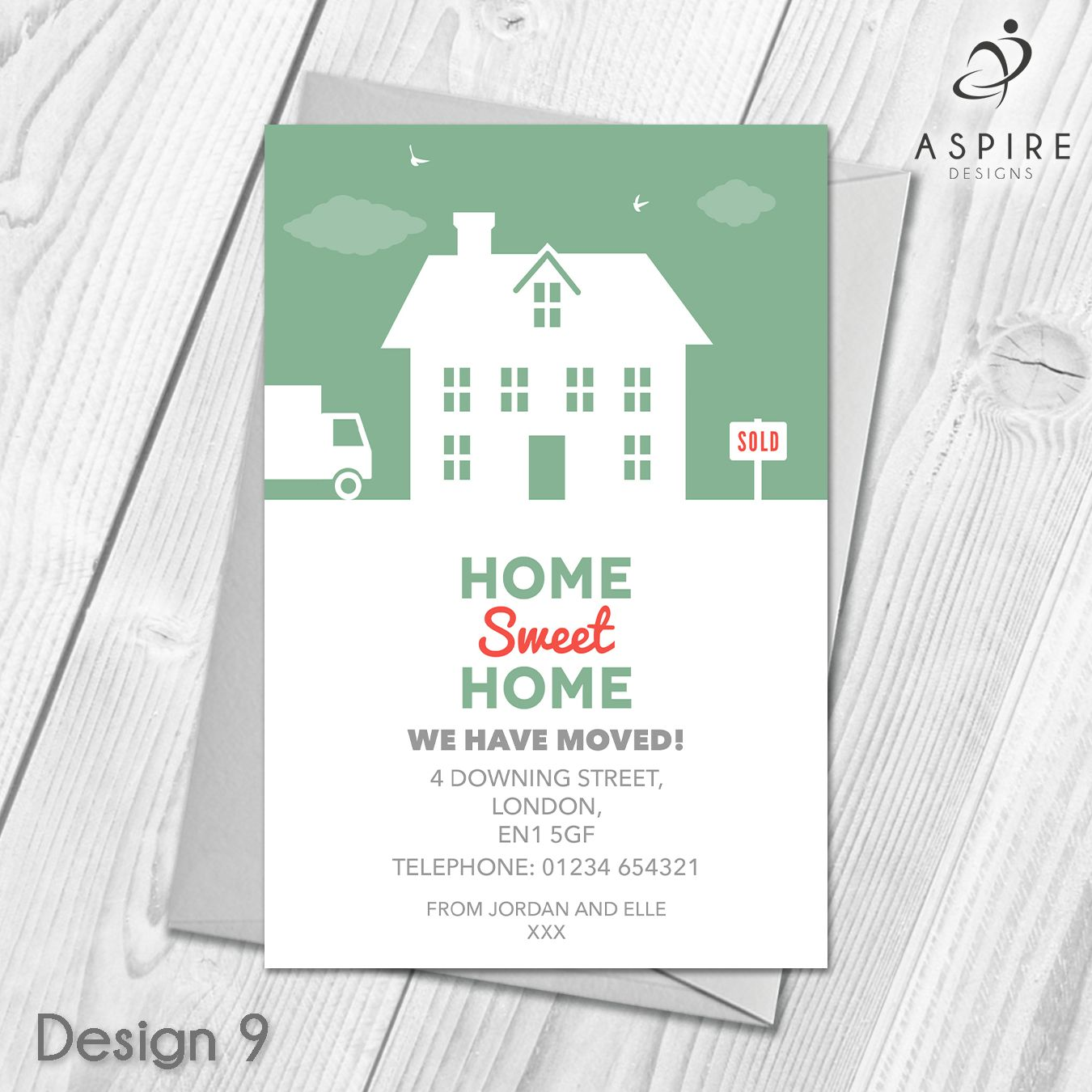 Personalised Home Sweet Home Change Of Address Cards With Regard To Free Moving House Cards Templates Change Of Address Cards New Home Cards New Address Cards