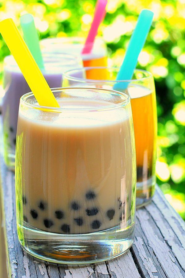 homemade Bubble Tea recipe