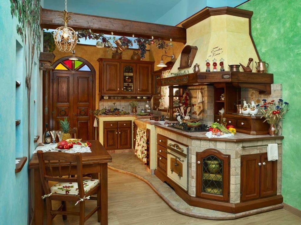 Cucine muratura rustiche | want love need | Pinterest | Kitchen ...