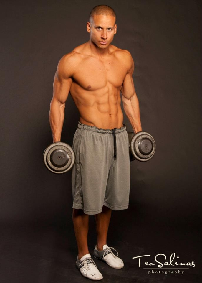 Adam Tijerina - Men's Physique Competitor, Team Buckles Fitness ...