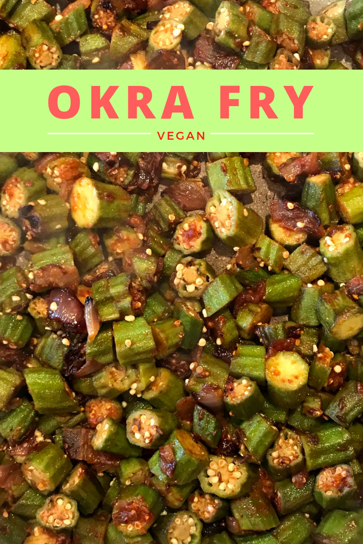 Okra Fry Bhindi Fry Simple Sumptuous Cooking Vegan