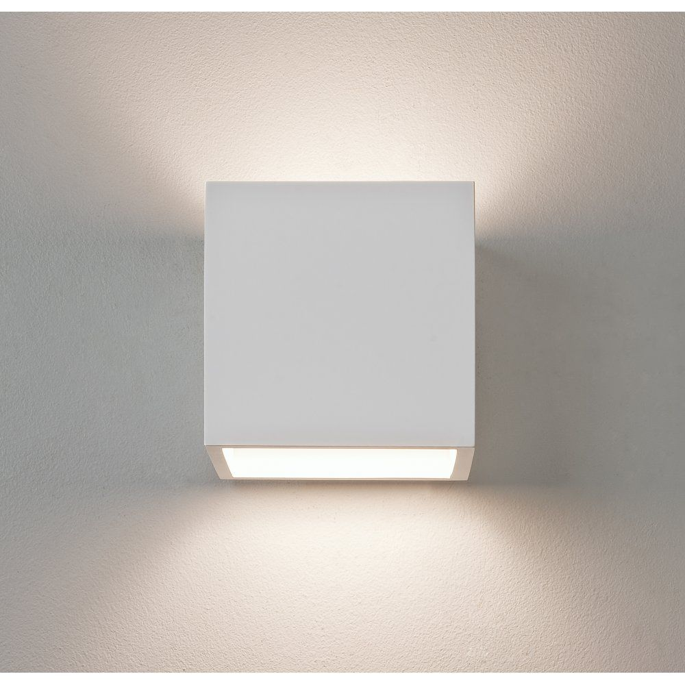 Astro 7153 Pienza 165 1 Light Up/Down Wall Light Plaster