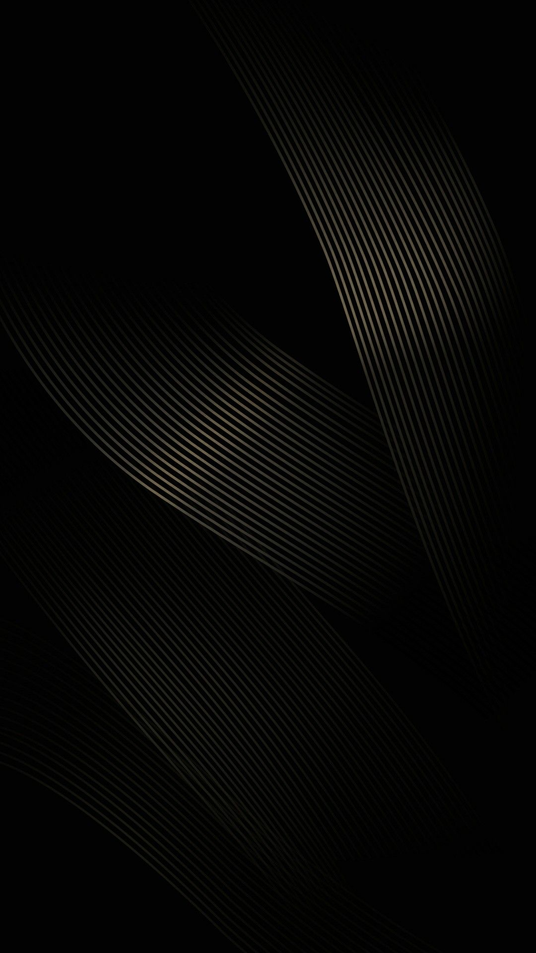 Black Ribbed Ribbon Wallpaper Black phone wallpaper