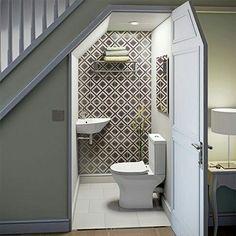 sottoscala, bagno, sgabuzzino o camera armadi x ospiti? 🤔 ...