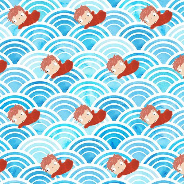 Studio Ghibli A5 Brown Paper Art Prints