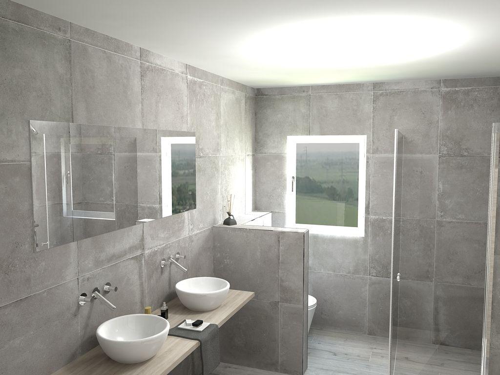 Betonlook Tegels Badkamer : Betonlook tegels badkamer badkamer betonlook badkamer en