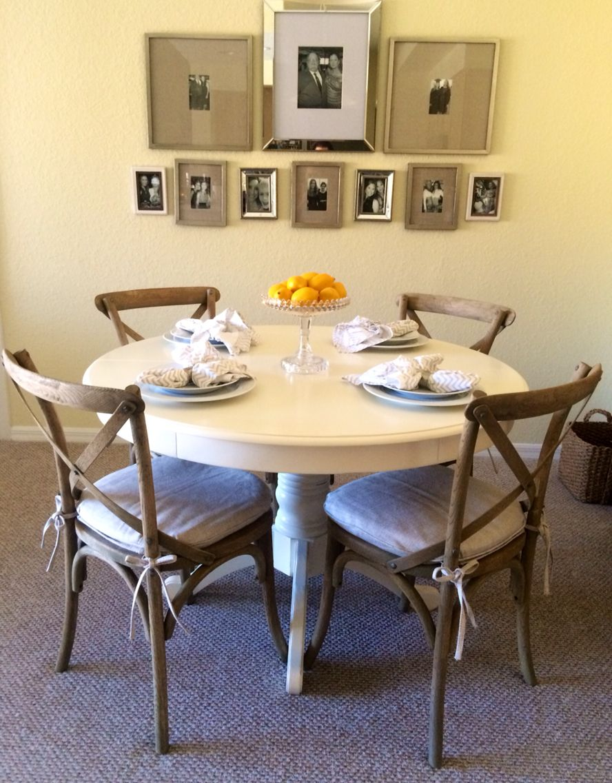 breakfast nook move table and chairs to shady oaks and replace rh pinterest com