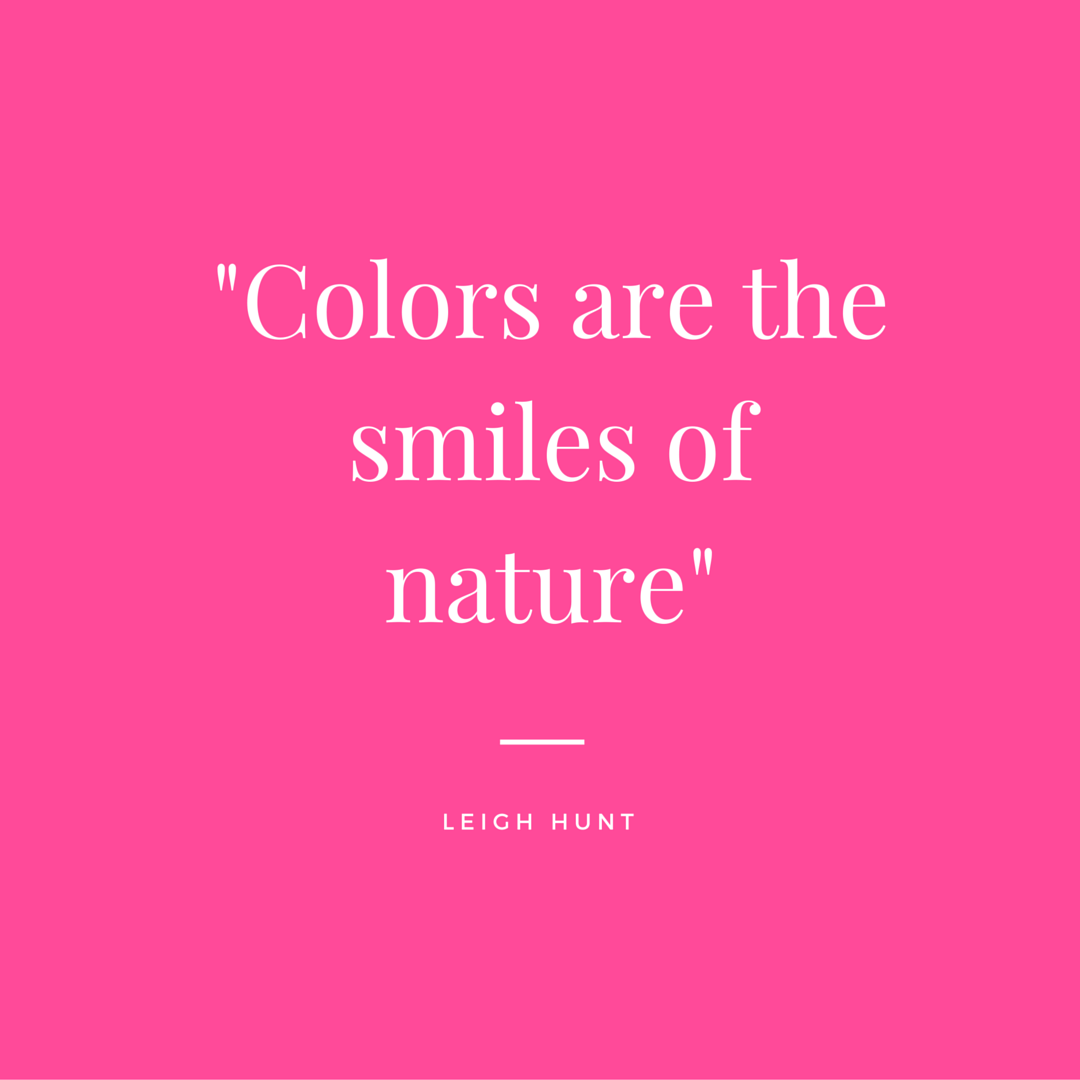 Which color makes you smile the brightest