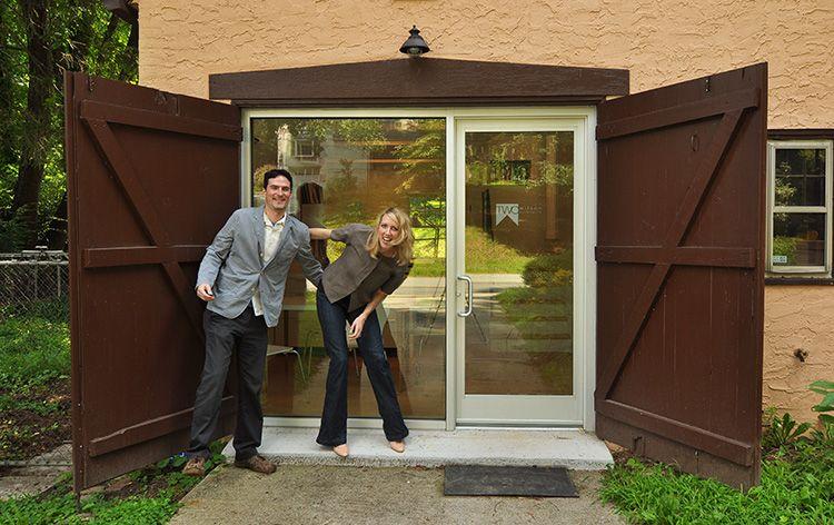 Garage Office Conversion Wilson Architects Garage Doors Garage Exterior Garage Door