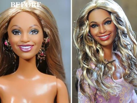 334ec5df7fe You Won't Believe These 23 Before-and-After Repaints Of Dolls