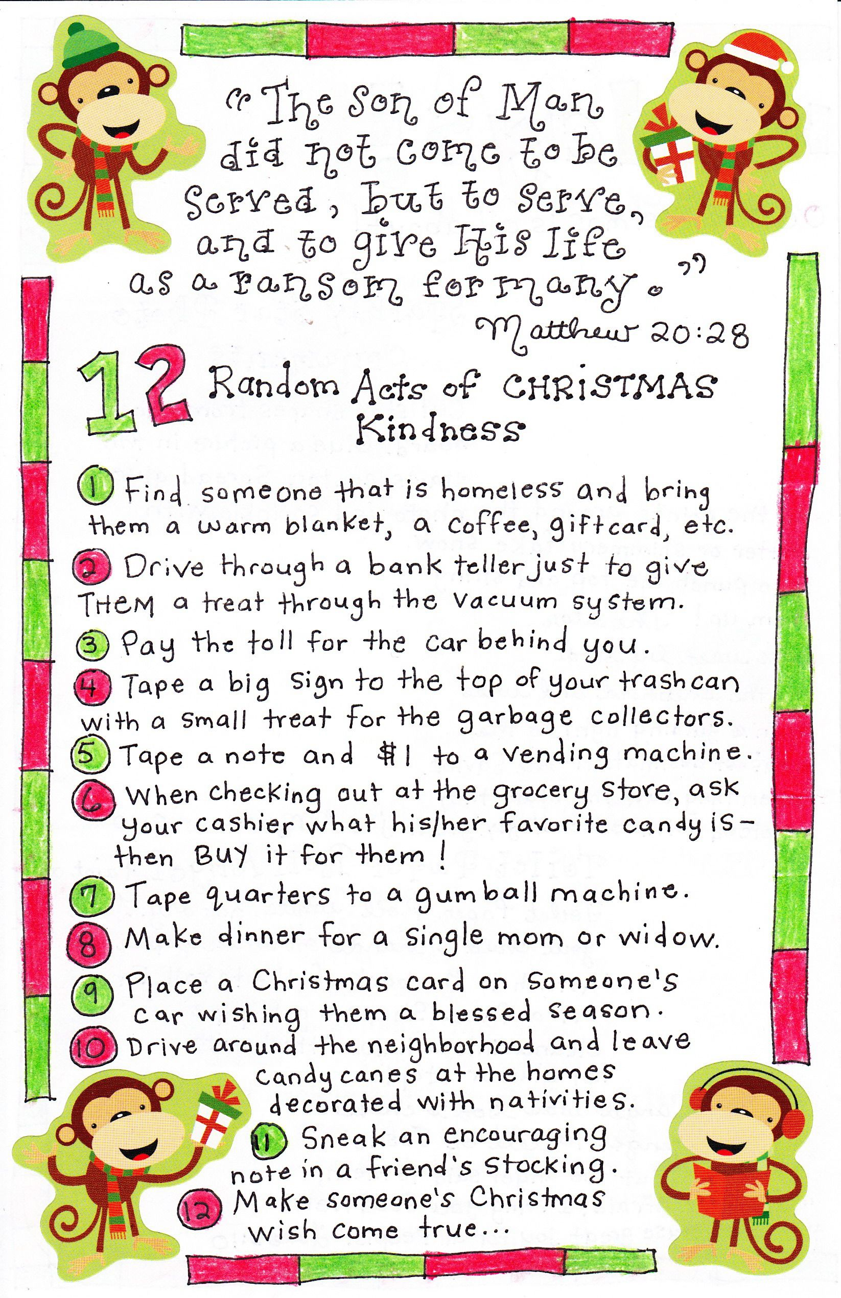 12 Days Of Christmas Kindness Happy Home Fairy 12 Days Of Christmas 12 Christmas Christmas Fun