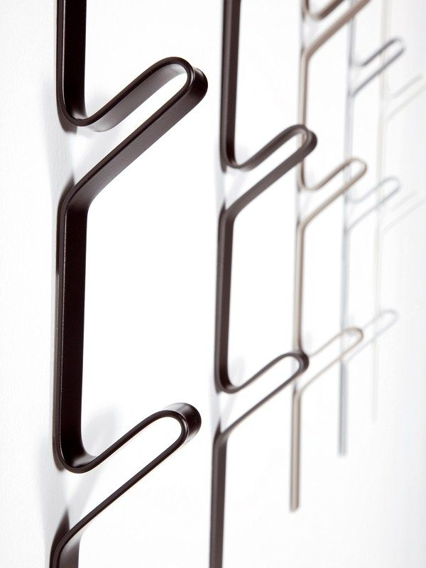 wall mounted steel coat rack didi system ydf design details pinterest coat racks wall. Black Bedroom Furniture Sets. Home Design Ideas