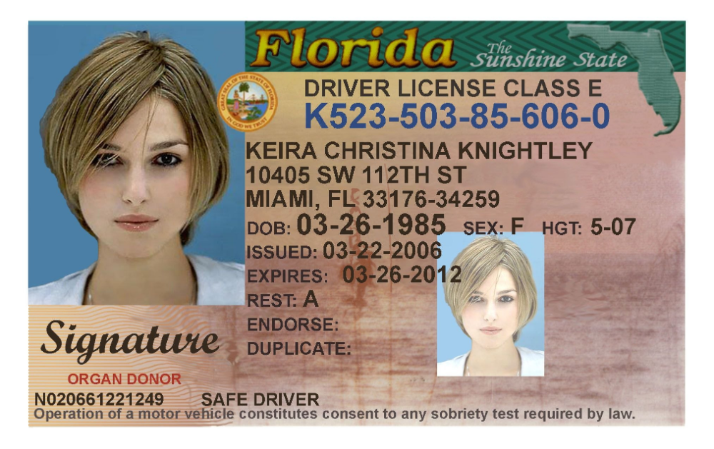How To Get A New Id Card In Florida