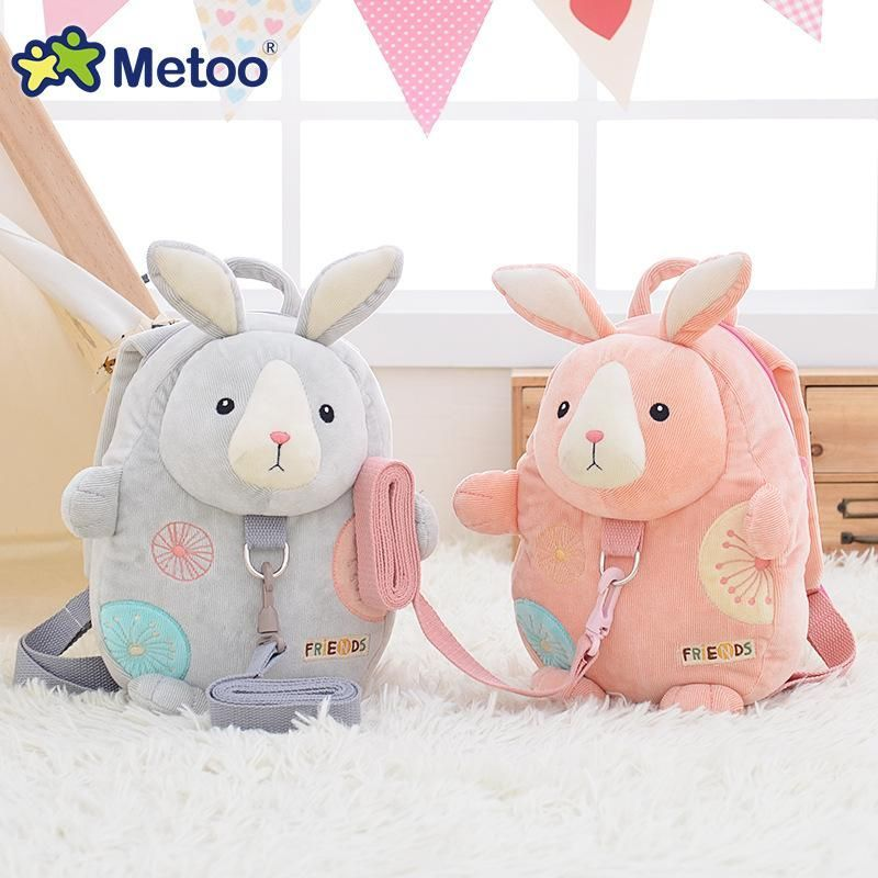 anti-lost Safety Backpack Harness Reins Toddler Bag For  Children Rabbit Cute