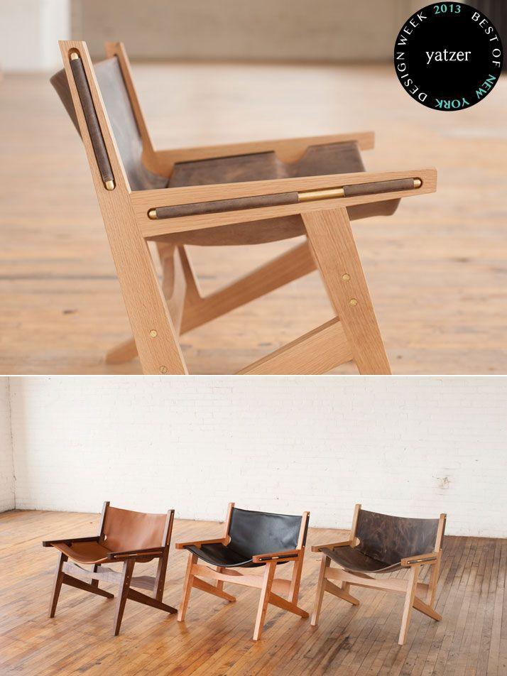 BEST OF NEW YORK DESIGN WEEK 2013   Yatzer Peninsula Chair by Benjamin Klebba (Phloem Studio) and Matt Pierce.