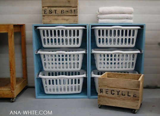 Stackable Laundry Baskets Captivating Build Stackable Laundry Basket Storage  Laundry Room Stackables Review