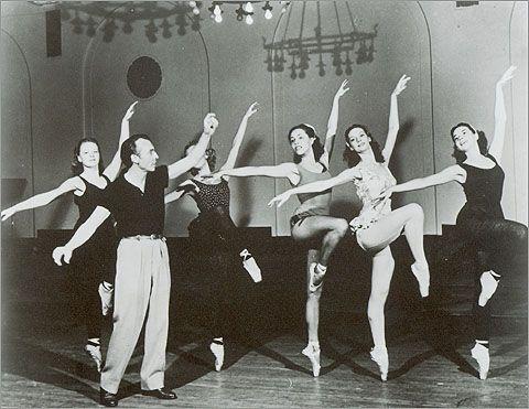 Master at work.....George Balanchine.