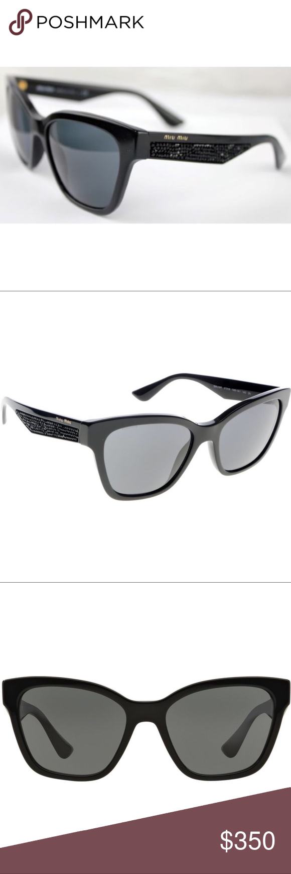 dedeef8947b4 Authentic. Includes  • Original Box • Hard Case • Soft Case (bag) • Lense  Cloth More details and photos to follow Miu Miu Accessories Sunglasses