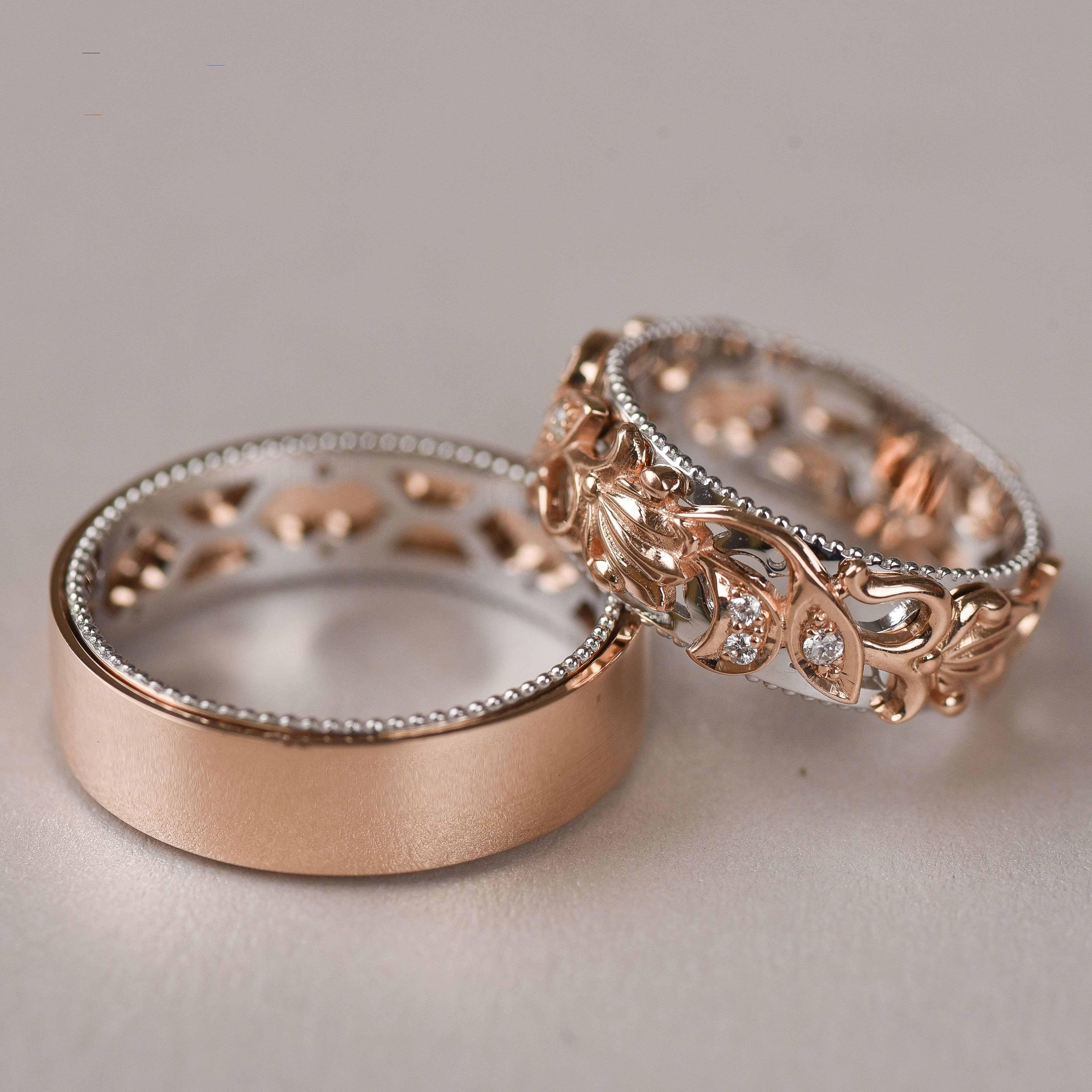 27+ Rose gold wedding ring set ideas ideas in 2021