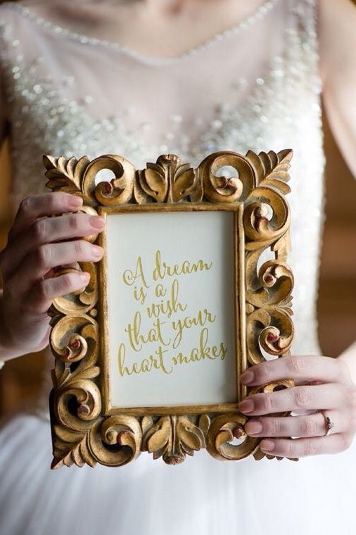 Fairtale wedding lauras engaged pinterest disney weddings these navy and gold cinderella wedding ideas are a dream come true for any princess bride dekoraum venusweddings and marie blever photography junglespirit Images