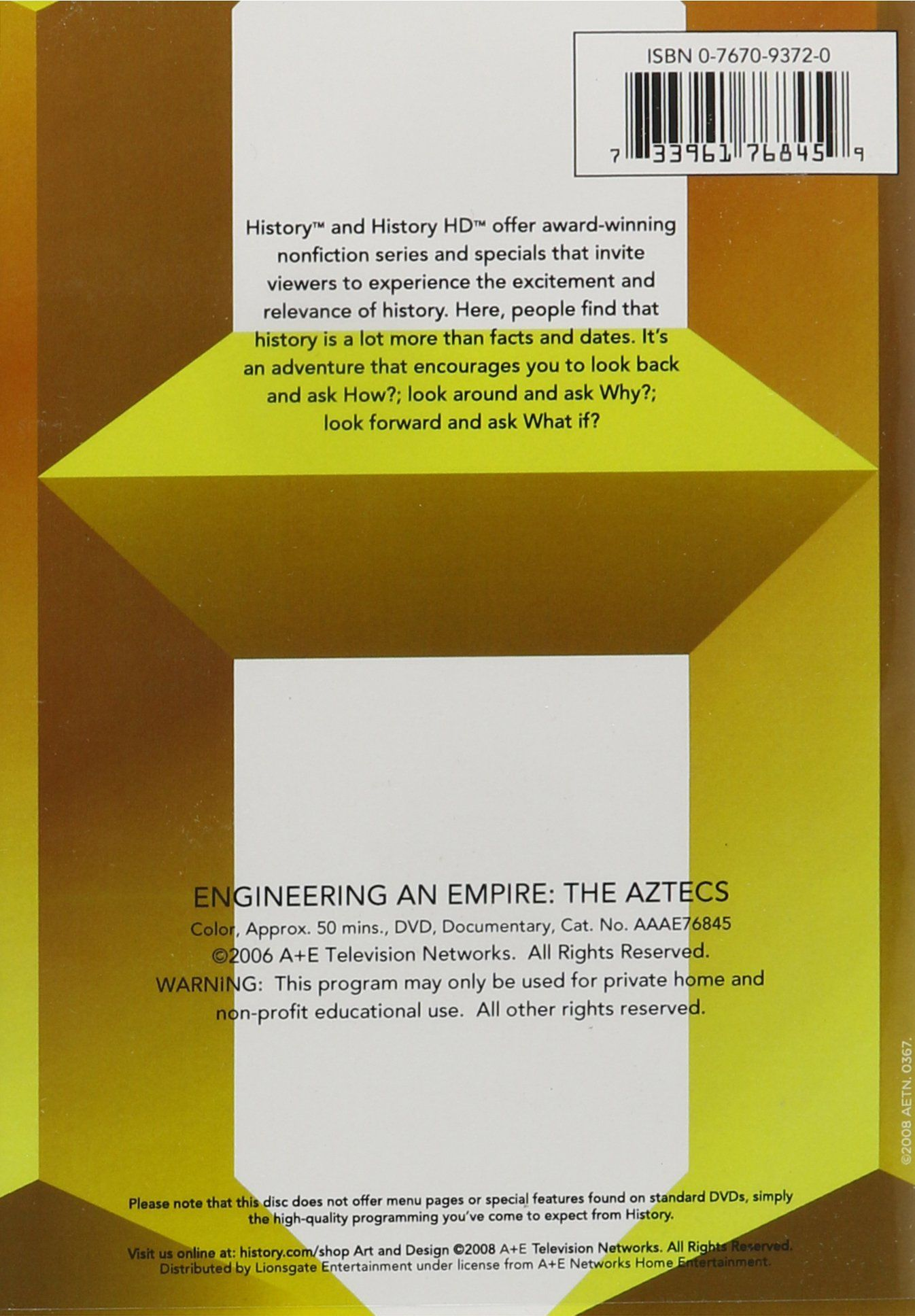 Engineering An Empire Aztecs Edizione Stati Uniti Usa