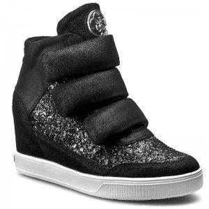 Sneakersy GUESS - Fosca FLFOS4 LEM12 BLACK  10e80dd2c23